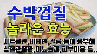 [#수박껍질효과] 수박…