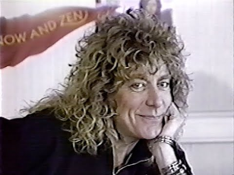 Robert Plant Toronto Press Conference 1988 (Global News Toronto)