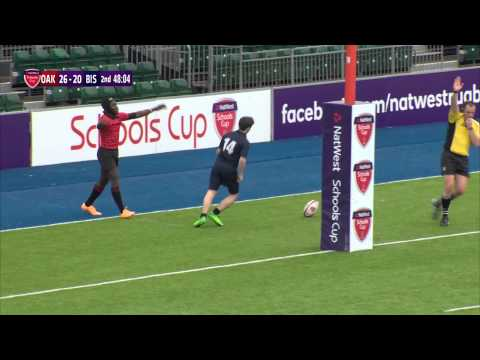 Highlights - Natwest Schools Cup 2015 U15 Vase Oakham School Vs. Bishop Wordsworth's Grammar