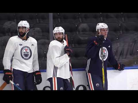 Edmonton Oilers head coach on Ryan Nugent-Hopkins's effective play