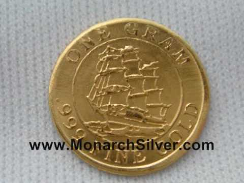 1 Gram Fine Gold Rounds NOW AVAILABLE at Monarch Precious Metals