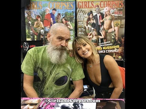 Monsterpalooza 10th anniversary with Girls and Corpses, Scout TaylorCompton and Bill Moseley