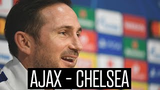 Lampard praises Ajax: 'We are on historic grounds'