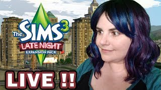 THE SIMS 3 - LIVE FROM BRIDGEPORT | LATE NIGHT EXPANSION GAMEPLAY