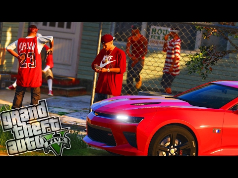 Bloods Gang Wars! - GTA 5 Gang Mod - Day 93