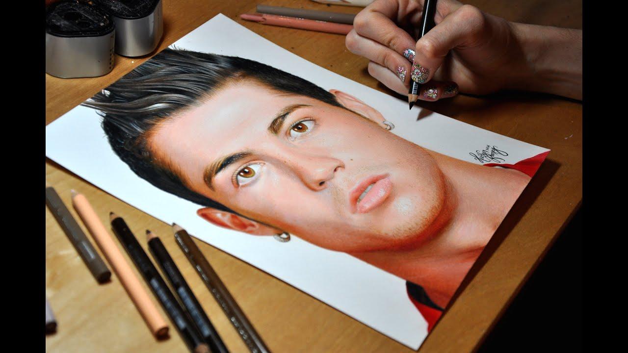Drawing Cristiano Ronaldo Youtube