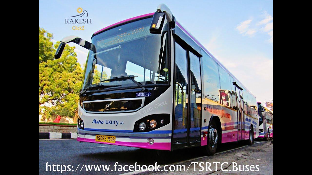 TSRTC New City Volvo Buses