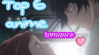 My top 6 romance school anime (Shoujo)
