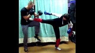 Работа ногами: удары, техника, принципы защиты. Тайский бокс, урок 20