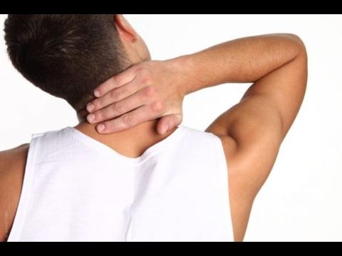 Болит шея как снять боль