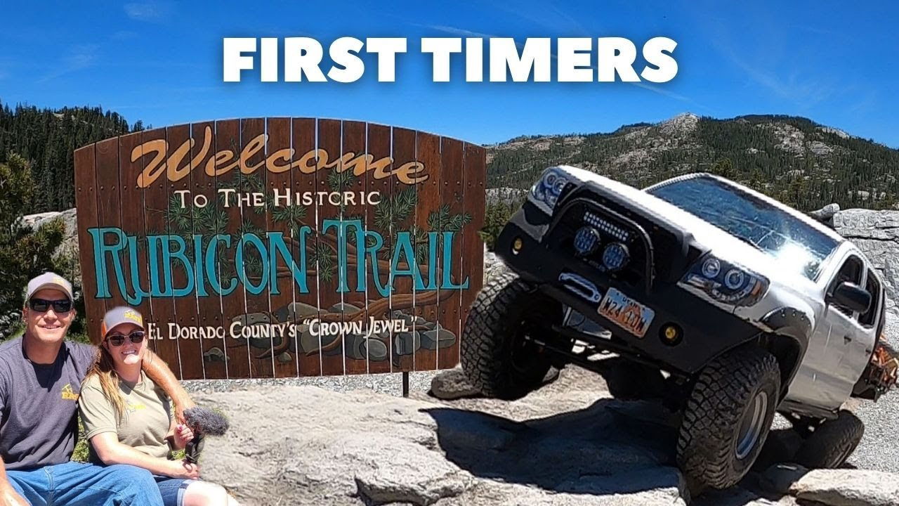 Trying to keep all WHEELS on the ground at the Historic RUBICON Trail -- Part 1