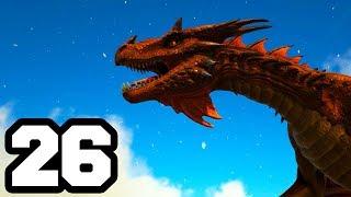 aparece un dragn   ark survival evolved 26 mods   temporada 6