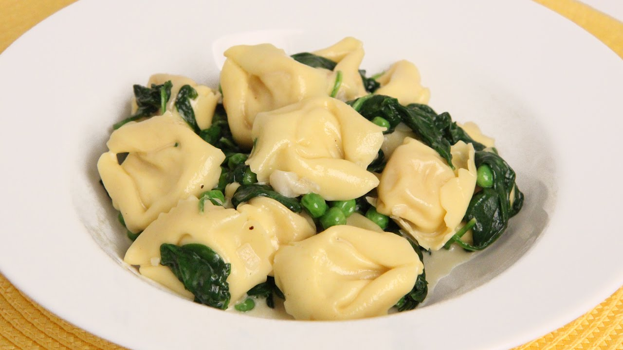 Tortellini with Spinach and Peas Recipe - Laura Vitale - Laura in the ...