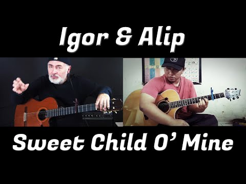 Sweet Child O' Mine – Igor & Alip – fingerstyle guitar collaboration