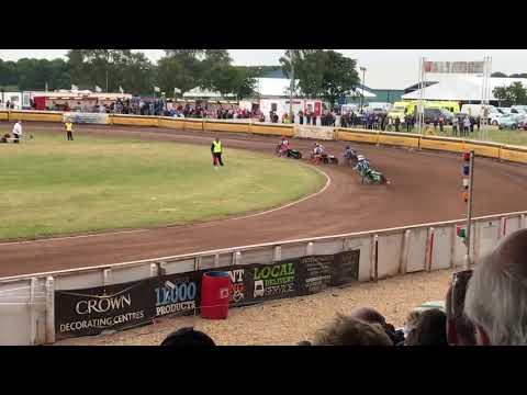 Peterborough v Lakeside Speedway 29062018 Heat 1