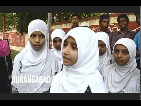 Muslim Students Black Ribbon Protest for Muslim Reservation
