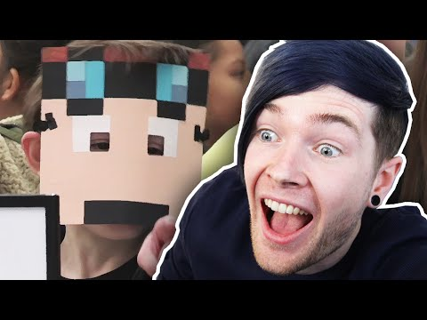 Dantdm reacts to kids react to dantdm doovi for Hide n seek living room edition
