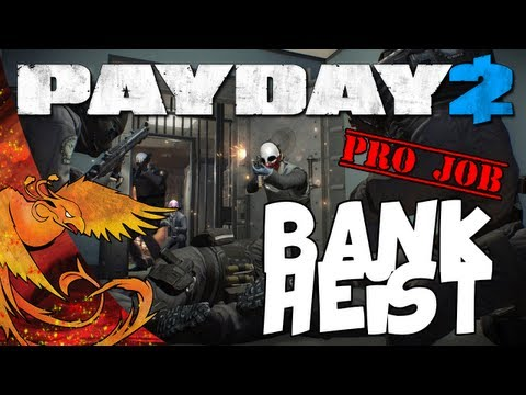 Payday 2: Bank Heist Pro Job │ Professional Outlaws! (Hard)