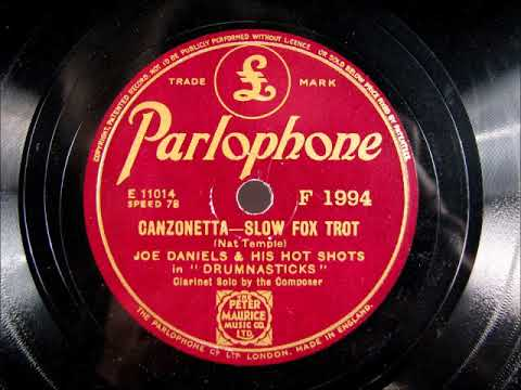 CANZONETTA by Joe Daniels and his Hot Shots (Jazz)