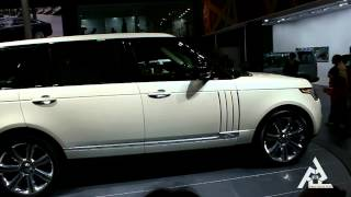 AUTO EXPO 2014 | RANGE ROVER | LATEST CARS | NEW CONCEPT CARS SHOWCASED | GREATER NOIDA