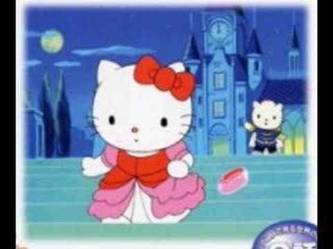 Hello Kitty As Cinderella Frame Youtube