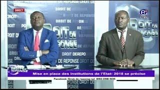 DROIT DE RÉPONSE ÉQUINOXE TV DU 11  FÉVRIER 2018