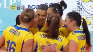 Чемпионат Европы-2017. Отбор. Украина - Италия. Лучшие моменты