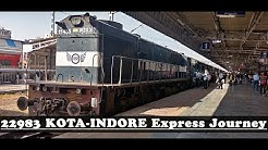 KOTA to INDORE via Ruthiyai : Complete Train Journey Highlights (Indian Railways)