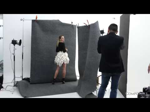 Behind the s: Allison McAtee photoshoot