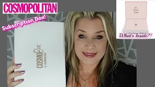 COSMO SUBSCRIPTION BOX! | WHAT