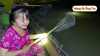 Chuyện lạ lần đầu tiên Nàng Út Ống Tre thấy cá bống dừa nổi này trên sông || Nàng Út Ống Tre