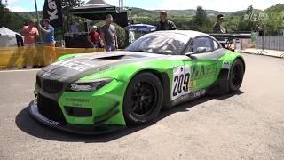 Jan Miloň - BMW Z4 GT3 - Glasbachrennen. 2017