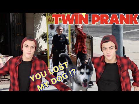 YOU LOST MY DOG!?!? TWIN PRANK // Dolan Twins