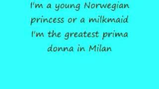 In my own little Chair- Cinderella