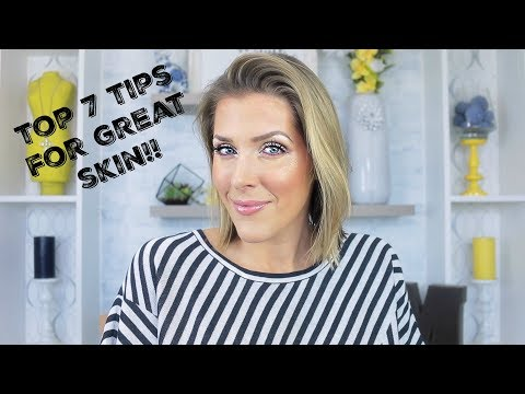 Top Tips To Keep Your Skin Looking The BEST!
