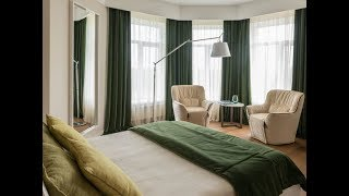 видео дизайн штор для спальни