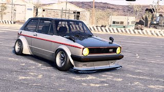 NEED FOR SPEED PAYBACK - VW GOLF MK1 GTI (PC GAMEPLAY)