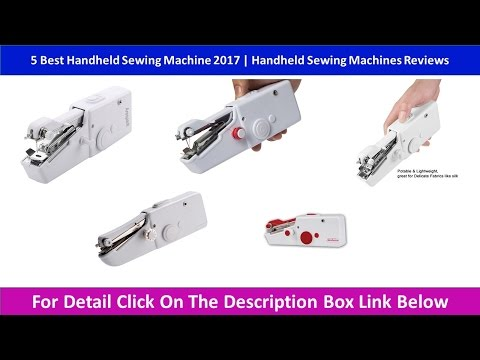 40 Best Handheld Sewing Machine 40 Handheld Sewing Machines Magnificent Handheld Sewing Machine Reviews