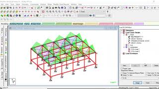 STAAD PRO V8i LECTURE 20 : Analysis Of Complete Structure & RCC Design