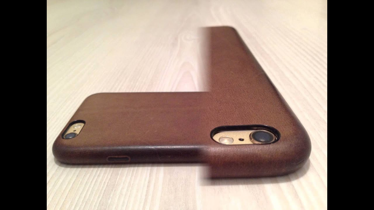 best service 4e76c 11cf1 Apple iPhone 6s Leather Case Brown after daily usage - Patina/Wear  (slideshow)