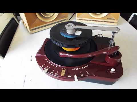 Download Zenith Cobra Matic Automatic 4 Speed Record Changer