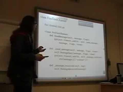 MLUG 2013 January. Telepathy Protocol Example