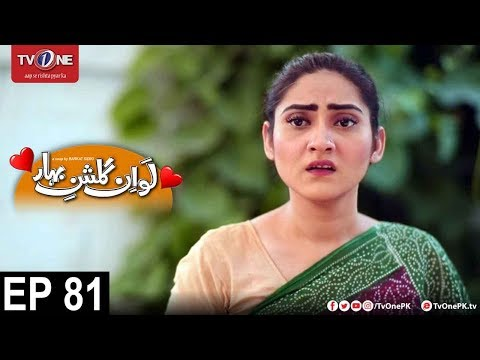 Love In Gulshan E Bihar - Episode 81 - TV One Drama - 20th December 2017