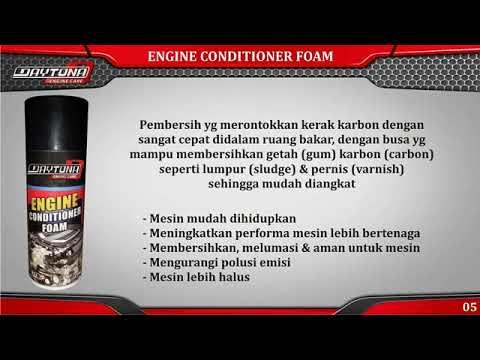 Cara Menggunakan Engine Conditioner Foam (Carbon Cleaner) pada mobil anda