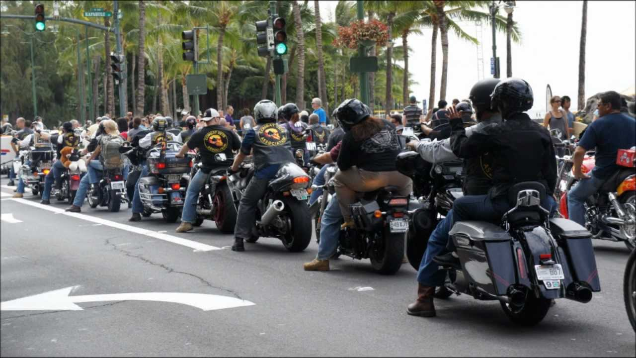 Bikers Toys For Tots : Toys for tots motorcycle run in honolulu slide show