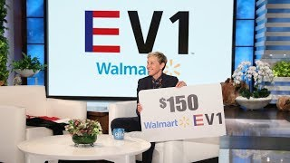 Ellen Unveils New Walmart Women's Clothing Line!