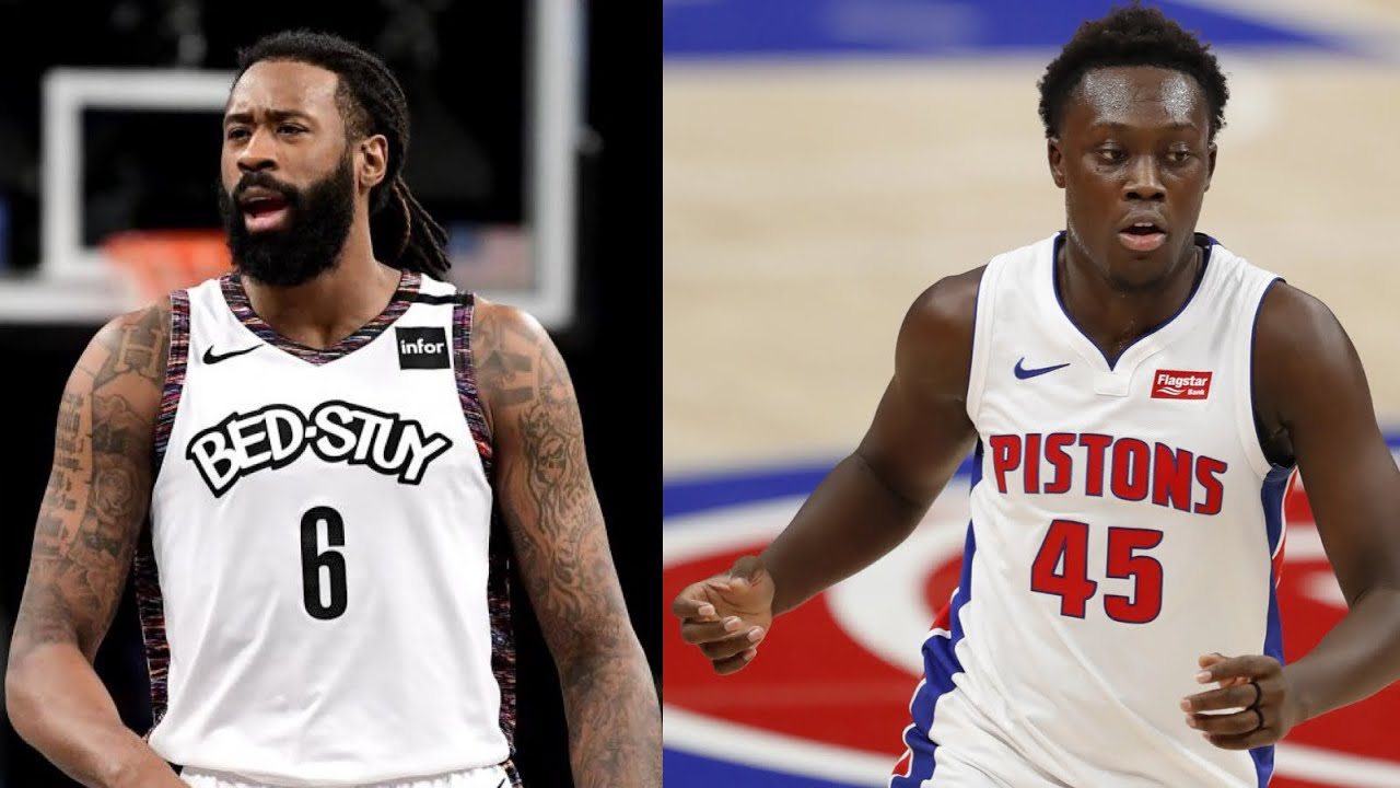 Report: Nets Trade DeAndre Jordan to Pistons; Lakers to Sign ...
