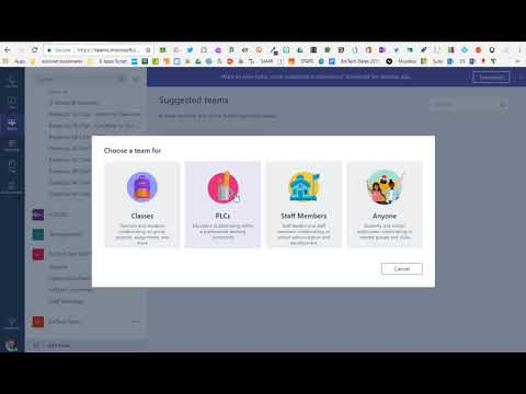 Microsoft Teams   Creating A Team Or Bringing Teams Functionality To An Office 365 Group