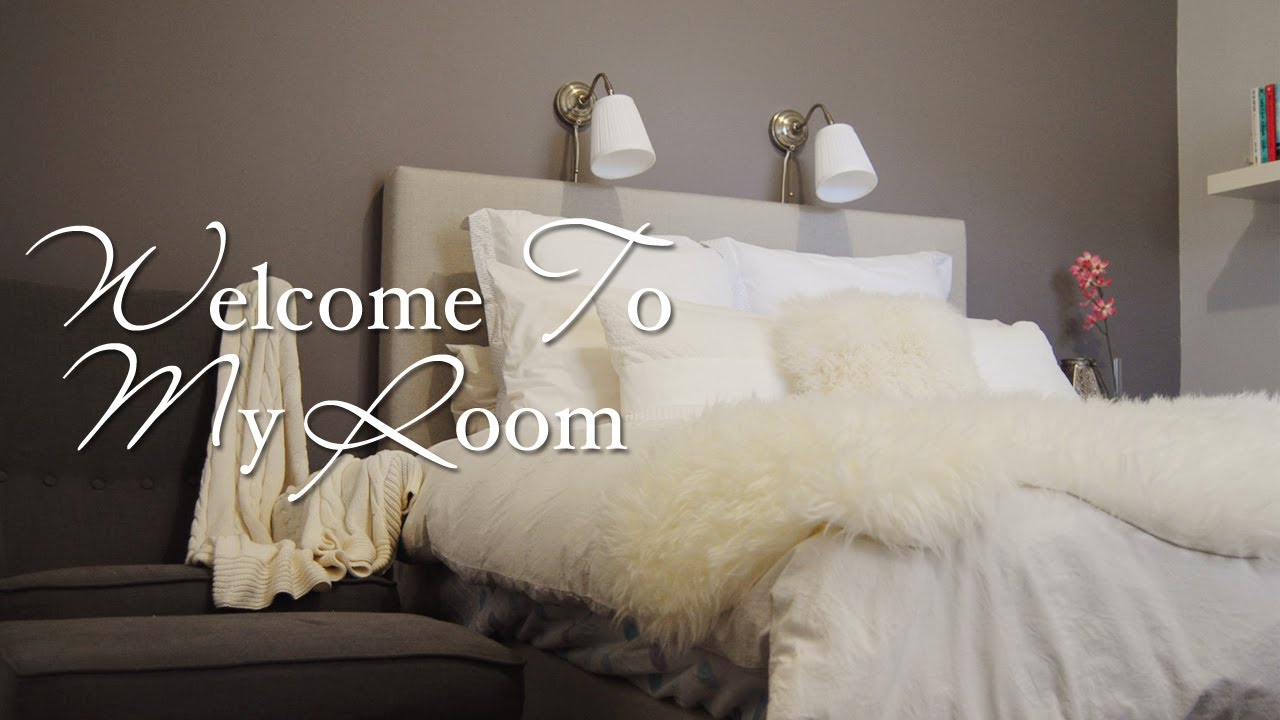 Welcome To My Room Tour