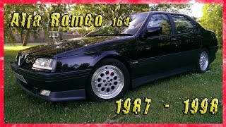 Alfa Romeo 164 (1987 – 1998) - Описание.